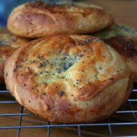 Shor gogal (Spice-filled Flaky Bread)