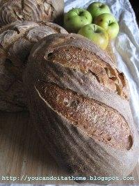 Apple Sourdough Bread