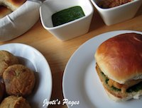Vada Pav~ The Indian Burger