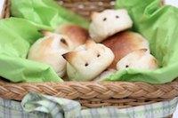 Bunny bread buns