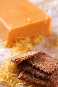 sourdough cheese cracker