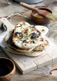 Naan- Tradtional Indian Flatbread