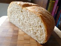 Irish Wholemeal White Bread