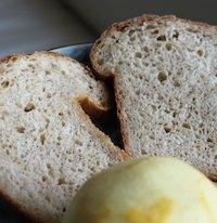 Lemony Multigrain Mini Loafs