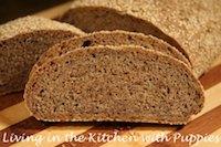 Flaxseed Rye with Sesame Crust