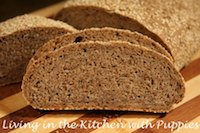 Flaxseed Rye with Sesame Crust
