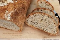 Whole wheat Levain Bread