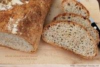 Whole wheat Levain Bread
