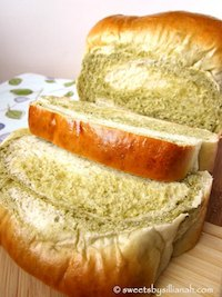 Matcha Milk Bread