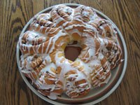 Blooming Coffee Cake Ring