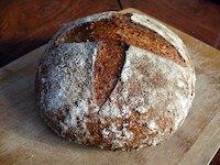 Maple-Oatmeal Sourdough Bread