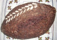 Black (Forbidden) Rice Bread