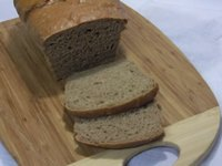 Whole Wheat Bread with no added fat or sweetener