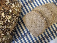 Honey Flax Whole Wheat bread