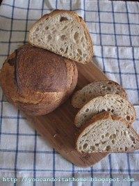 Wheat Germ Sourdough