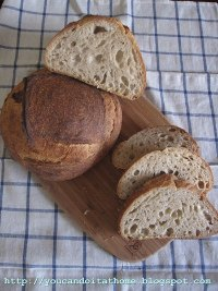 Wheat Germ Sourdough