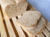 White Whole Wheat Sandwich Loaf