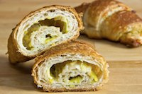 Leek Cheese Croissants