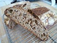 Transitional Multigrain Hearth Bread