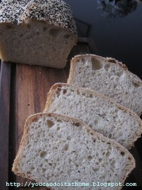 Pane Siciliano - sandwich loaf and focaccia