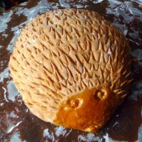 Honey Hedgehog Bread