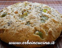 Asparagus Bread with Sage