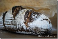 Seeded bread with sourdough