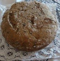 Capers Sourdough Rye Bread