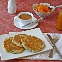 Sourdough Scallion Pancakes