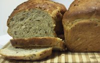 Sprouted Barley Bread