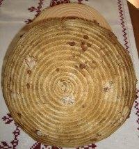 Whole Grain Walnut Boule