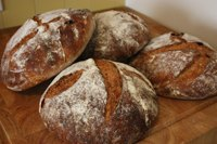 2 Tartine Sourdoughs: Rye & Whole Wheat