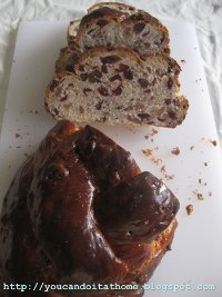 Cranberry and Walnut Celebration Bread