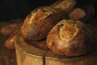 36hr+ sourdough country loaves & baguette