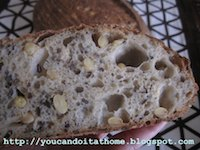 Soy and Linseed Sourdough