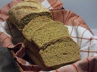 No Knead Anadama Corn Bread