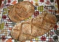 Elephant Garlic Bread