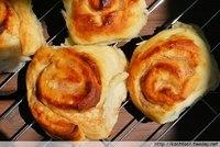 Rustic Cinnamon & Curd Rolls