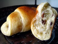 Buttery Sultanas Rolls