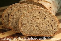 Sunflower Seed Bread with Rye Sourdough