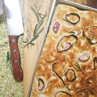 Rosemary Onion Foccacia