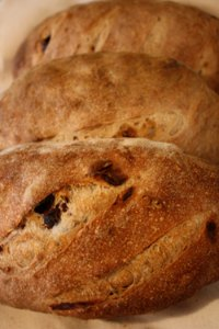 Chocolate Cherry Toasted Pecan Loaves