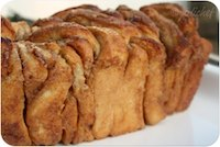 Cinnamon-Sugar Pull-Apart Ricotta Bread