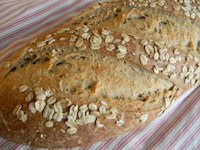 honey oatmeal sourdough