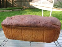 Rye Bread Made With Old Dough