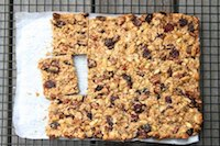 Sourdough Granola Bars