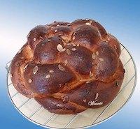 Enriched eggs&grains Challah
