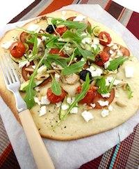 Springtime Vegetable Pizza Bianca