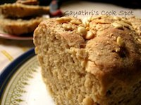 Oat Bran and Flax Seeds WHole Wheat Broom Bread