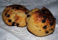 Paninis de Kamut con Pepitas de Chocolate
